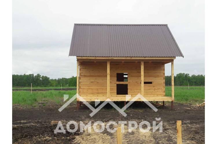Дом 6х4 с террасой 6х2 построили за 8 дней!